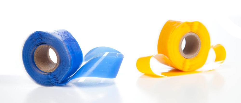 Silicone Rescue Tape - Popular Sportfishing Colors